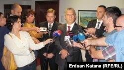 Ministri unutrašnjih poslova u razgovoru sa novinarima