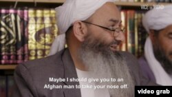 The apparent threat from leading cleric and lawmaker Nazir Ahmad Hanafi was made during a testy interview conducted by Isobel Yeung, a reporter for the documentary series Vice on HBO.