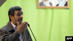 "Under former President Mahmud Ahmadinejad (in file photo), who called the Holocaust a ""myth"" and repeatedly denied its scale, numerous events and seminars questioning the Holocaust were held in Iran."