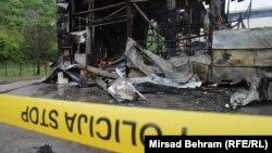Izgorio tržni centar u Mostaru