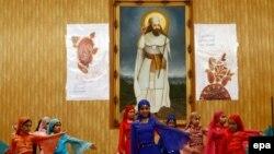 دختران زرتشتی در جشن سَدِه (جمعه ۱۰ بهمن ۱۳۹۳-تهران)