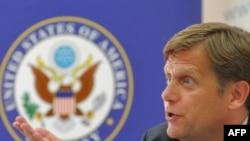 Michael McFaul, Washington's new envoy to Moscow.