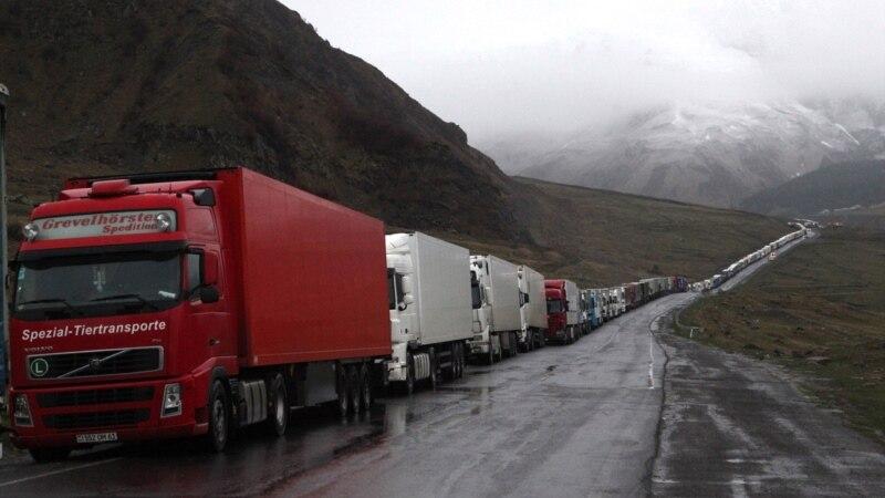 Հայաստանում կան փակ և դժվարանցանելի ճանապարհներ, Լարսը փակ է՝ ռուսական կողմում կա կուտակված 124 բեռնատար