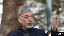 Иллюстративное фото. Президент Афганистана Хамид Карзай.