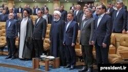 حسن روحانی گفته است که او اعلام کرد که دولتش درباره خروج احتمالی آمریکا از توافق هستهای «برنامههای لازم را تهیه کرده است».