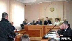 Адкрытае судовае паседжаньне калегіі пакрымінальных справах Гомельскага абласнога суду.
