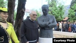 "Bista Ive Andrića u ""Parku nobelovaca"""
