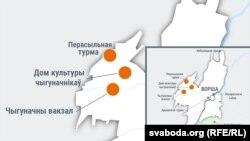 У 1930-я НКВД у Воршы забіваў да 150 чалавек на дзень. Мапа рэпрэсій