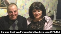 Гульнара Бекирова с мужем Эдемом Бекировым