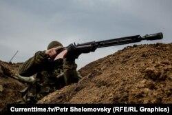 """Боец батальона """"Азов"""""""