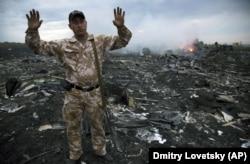 """Место крушения """"Боинга"""" под Донецком, 17 июля 2014 года"""