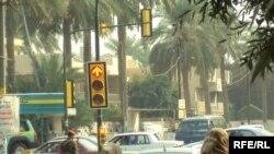 في احد شوارع بغداد - صورة من الارشيف