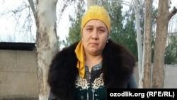 Фермер томонидан калтакланган Феруза Убайдуллаева