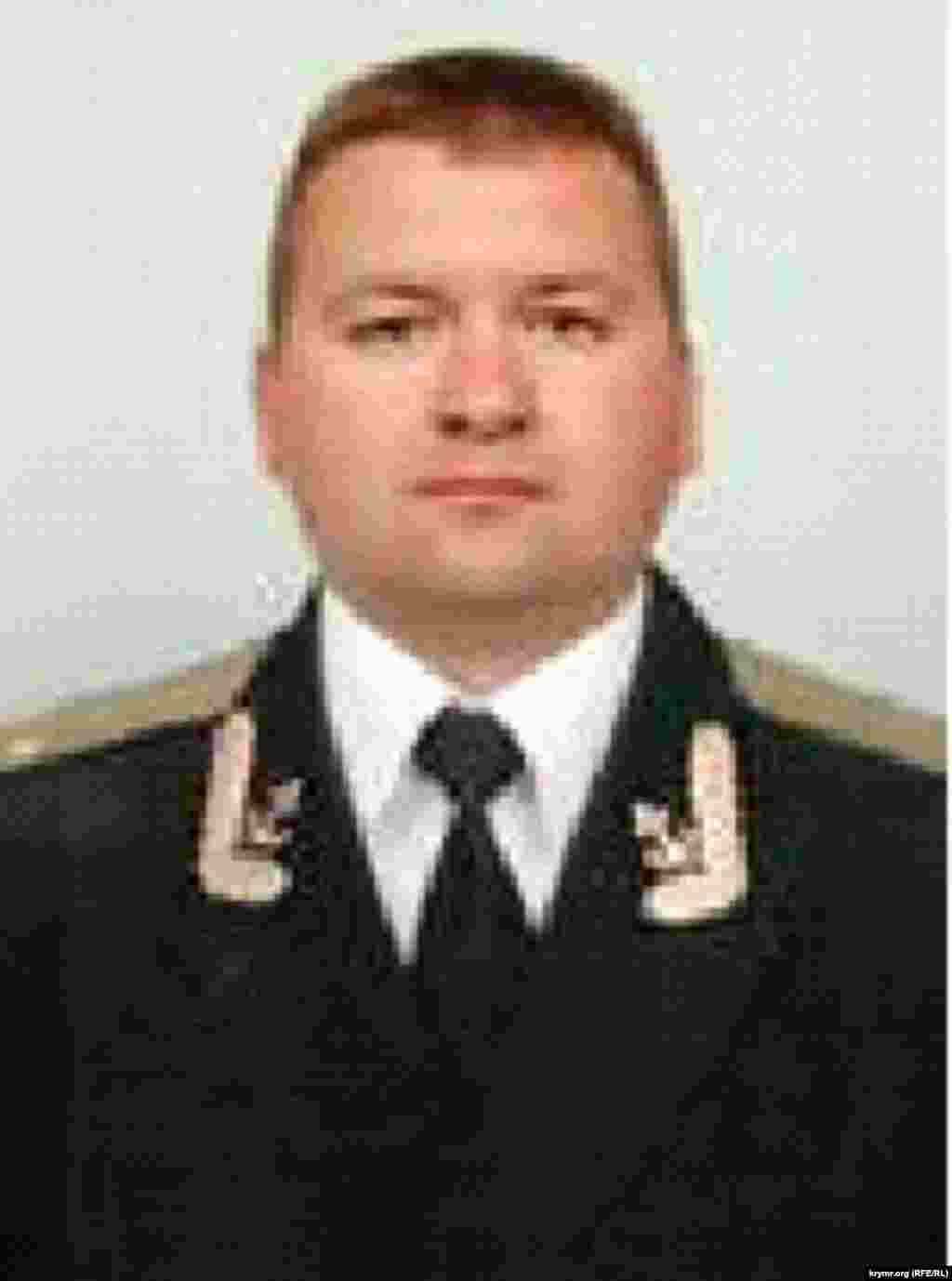 Александр Журавский - сотрудник ФСБ в Севастопольском главке российского Минюста