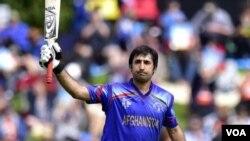 Afghan cricket star Asghar Stanizkai