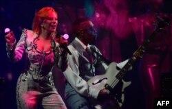 اجرای لیدی گاگا در مراسم گرمی امسال