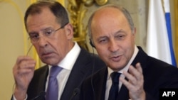 Lavrov dhe Fabius - foto arkivi