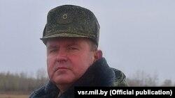 Палкоўнік Уладзіслаў Будзік, начальнік вайсковай часткі ў Печах, архіўнае фота