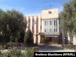 Акимат города Сатпаев Карагандинской области. 10 июля 2014 года.