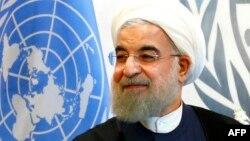 حسن روحانی در مقر سازمان ملل در نیویورک