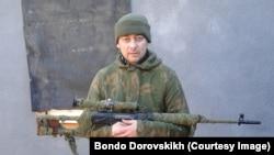 Бондо Доровских на Донбассе, 2014