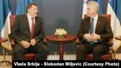 Milorad Dodik i Tomislav Nikolić, ilustrativna fotografija