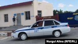 Полицейский автомобиль. Иллюстративное фото.
