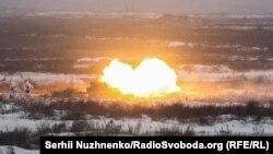 Воєнний стан: бригадні навчання з участю президента України – фоторепортаж