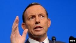 Kryeministri i Australisë, Tony Abbott.