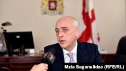 Новоназначенный министр иностранных дел Грузии Давид Залкалиани