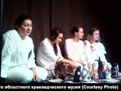 "Репетиция спектакля ""Яшка"""