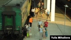 Trenul Chişinău-Moscova