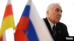 Former KGB official Leonid Tibilov is the front-runner after the first round of South Ossetia's presidential election.