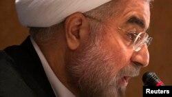 Президент Ирана Хасан Роухани. Нью-Йорк, 27 сентября 2013 года.