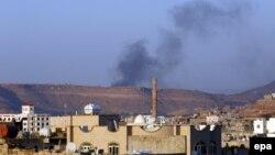 Авіаудар коаліції, очолюваної Саудівською Аравією, по столиці Ємену Сані, 30 березня 2015 року
