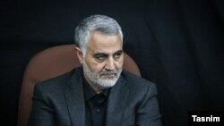 Qassem Soleimani, Commander of Iran's Qods Force. FILE photo
