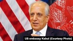 د افغان سولې د خبرو لپاره د امریکا استازی زلمی خلیلزاد