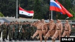 Ruska vojska u siirjskoj bazi kod grada Latakije