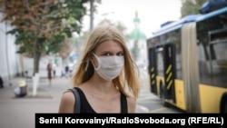 Під час задимленості у Києві, 3 вересня
