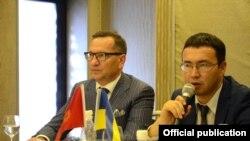 Сафири Украина дар Бишкек Николай Дорошенко