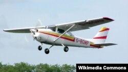 Легкомоторный самолёт Cessna, архивное фото