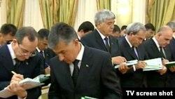 Türkmen resmileri.
