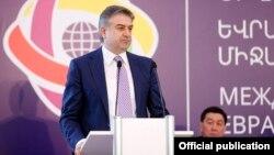 Премьер-министр Армении Карен Карапетян, Ереван, 6 октября 2017 г.