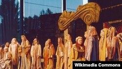 """""""ნაბუქო"""" სილეზიის (პოლონეთი) ეროვნული ოპერის მსახიობთა შესრულებით"""