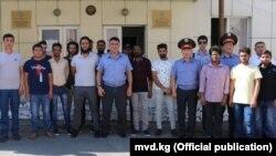 Встреча руководства бишкекской милиции с иностранными студентами. 6 августа, 2018 года.
