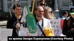"Иркутянин Захар Сарапулов на ""Монстрации"""