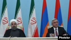 Hassan Rouhani və Serzh Sarkisian