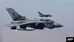 Բրիտանական Tornado օդանավերը Իրաքի օդային տարածքում, 27-ը սեպտեմբերի, 2014թ․