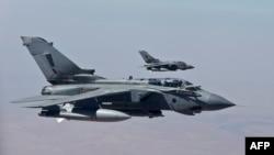 تورنادوهای نیروی هوایی بریتانیا در روز ۲۷ سپتامبر در عراق
