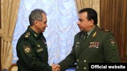 Сергей Шойгу и Шерали Мирзо